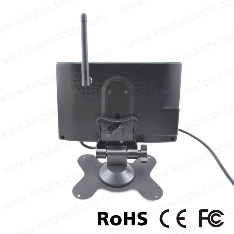 7inch Wireless Vehicle Rear View System with Waterproof Reverse Camera