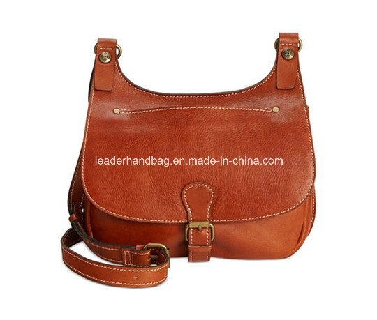 Factory Women Gender Genuine Leather Retro Handbags Toe Bag (LDA-014)