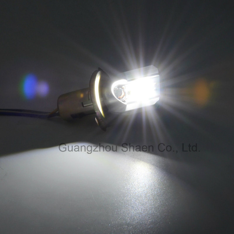 LED Motorcycle Headlight 6500k White M2s Ba20d