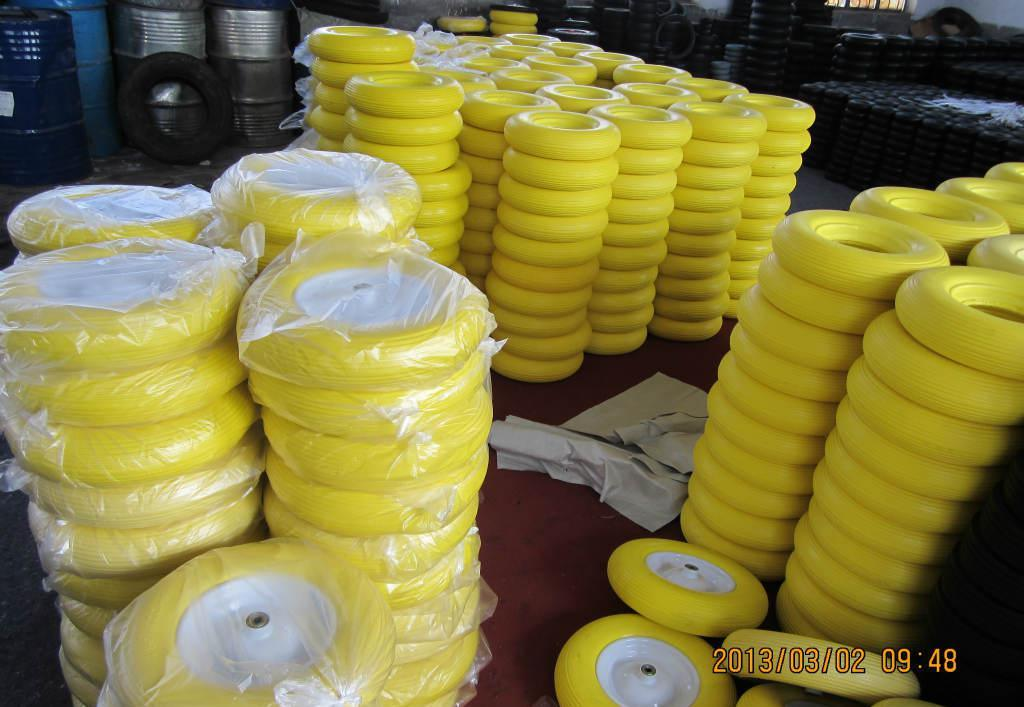 Manufacture High Quality PU Foam Wheel