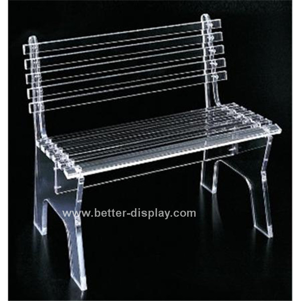 Acrylic Clear Park Bench Garden Chair (BTR-Q3009)