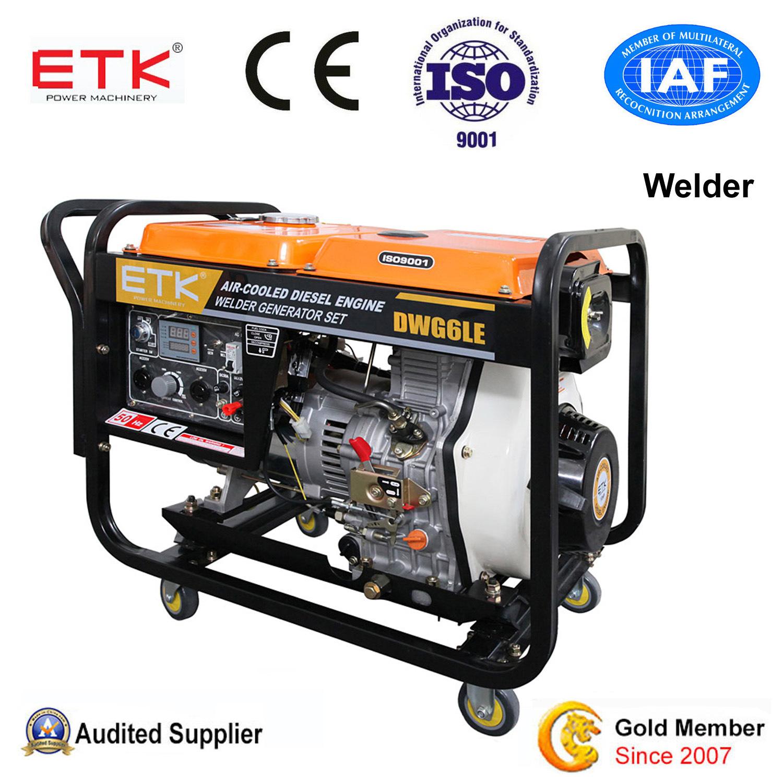 China Open Type 50Hz Home Use Diesel Welder Generator China