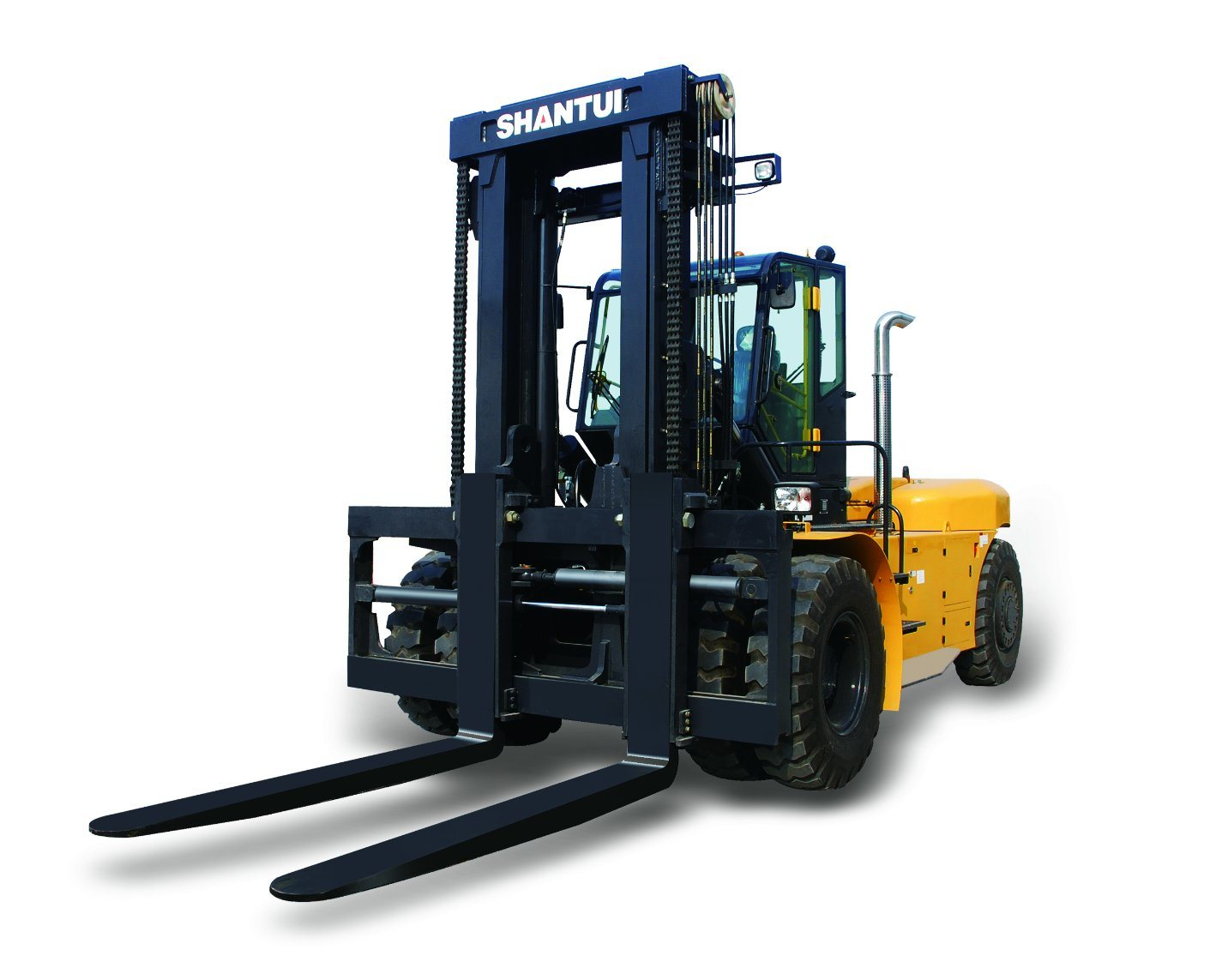 25 Ton Forklift Truck with Volvo Engine and Cabin
