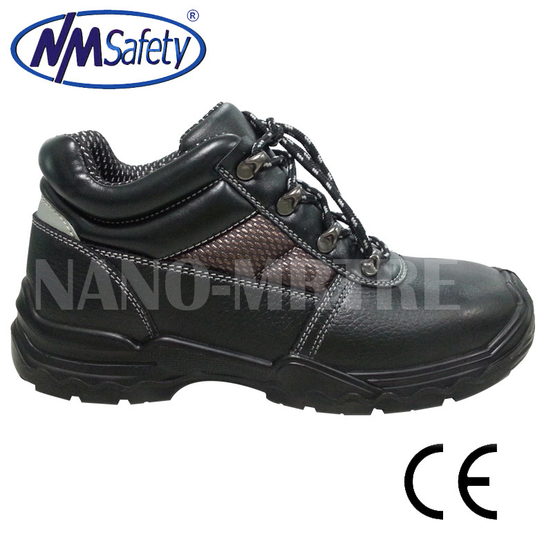 Nmsafety Cow Split Leather Safety Shoes Work Boots