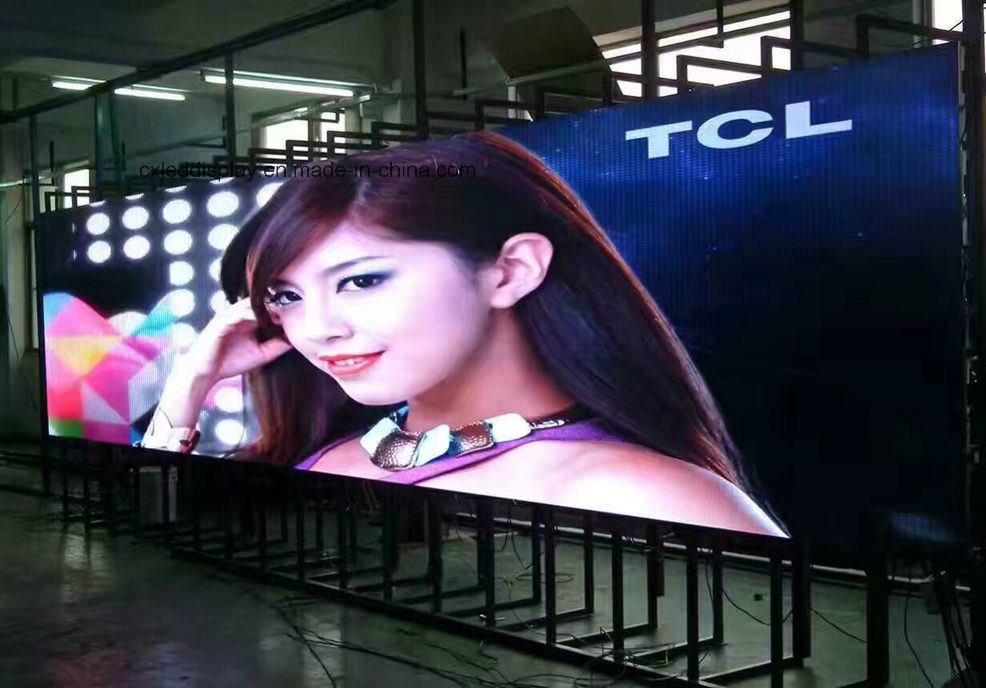 High Brightness Outdoor Full Color LED Screen P5 P6 P8 P10 IP65 Waterproof SMD LED Running Advertising Display