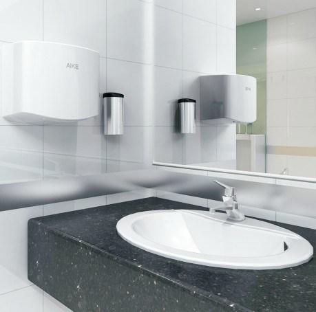 China public bathroom automatic sensor electric hand dryer for Bathroom hand dryers electric