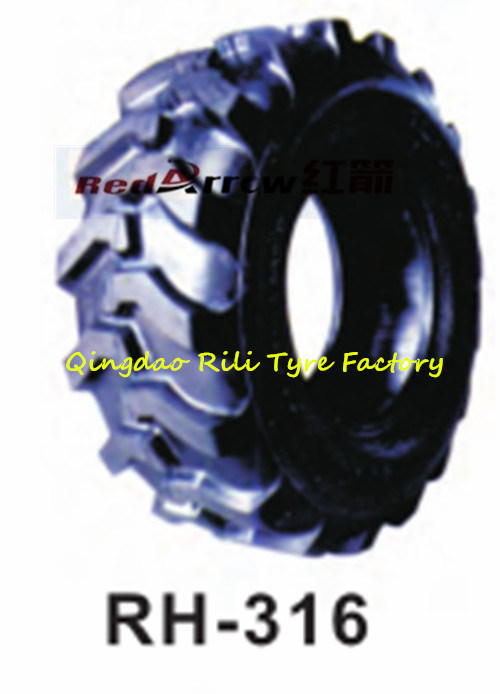 Good Traction Insustrical Tire (500-8 600-9) for Trailer and Scraper or Forklift