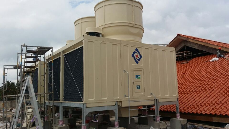 Coss Flow Square Type Cooling Tower