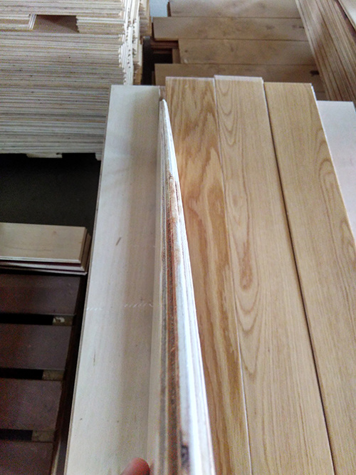3-Layer Natural Color White Oak Engineered Wood Flooring