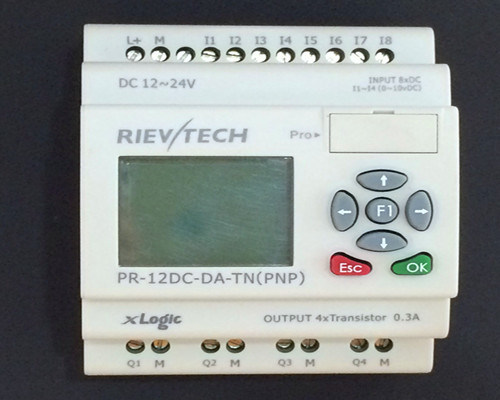 Programmable Relay for Intelligent Control (PR-12DC-DA-TN-HMI)