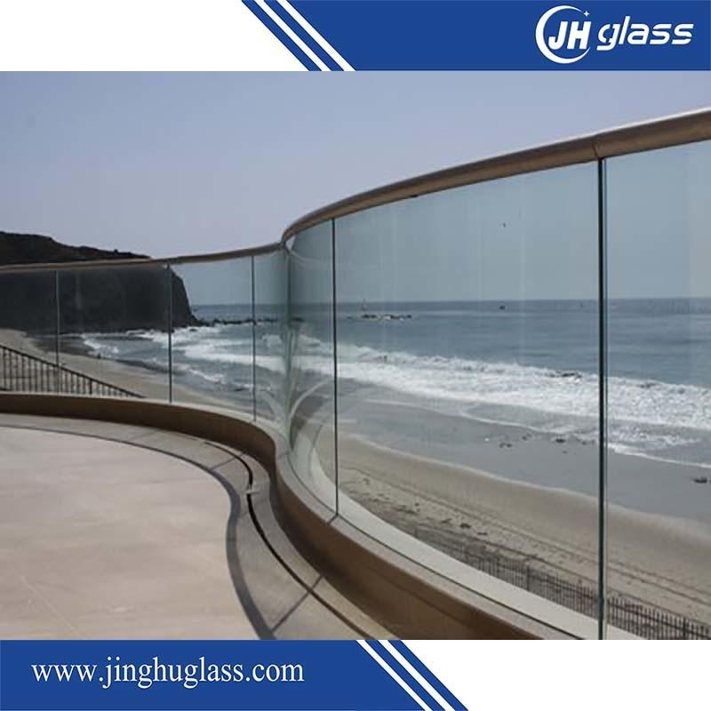 3-19mm Silkscreen Print/Acid Etch/Frosted/Pattern Flat/Bent Tempered/Toughened Glass for Door/Window/Shower Door