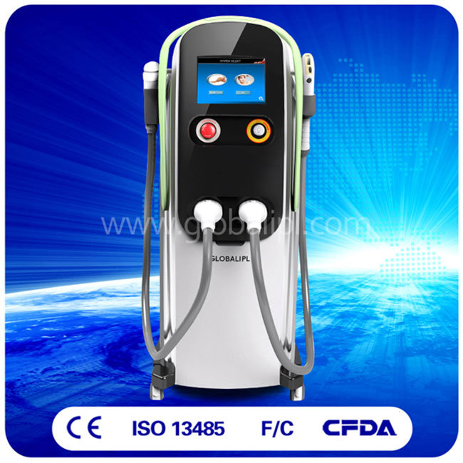 2 in 1 IPL + Diode Laser Hair Removal Machine IPL Shr Laser
