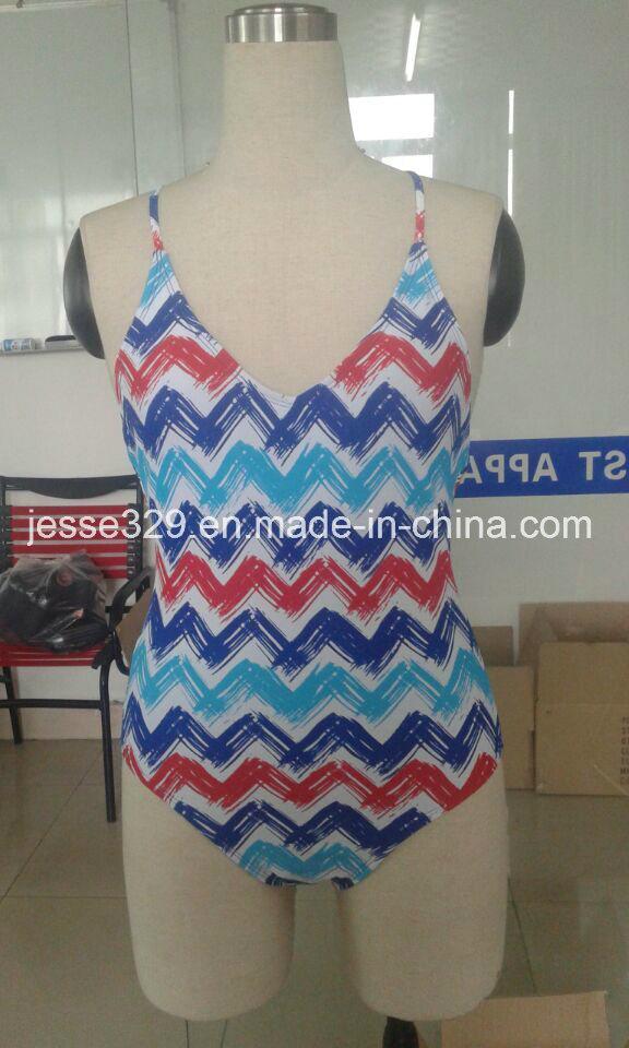 Sexy Popular One-Piece Swimwear (OP-5040W)