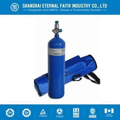 Aluminum Small Portable Oxygen Cylinder Medical Oxygen Gas Cylinder