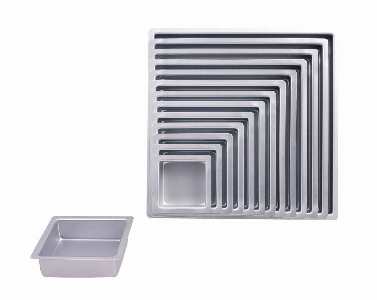 Bakeware Aluminum Anodized Square Cake Pan (MY2224A-MY2236A)