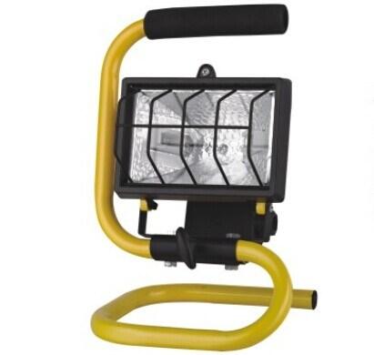 Powerful 500-Watt Halogen Portable Work Light