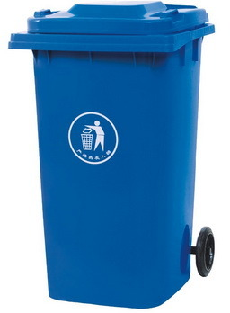 Blue Mobile Waste Container 240L Residential