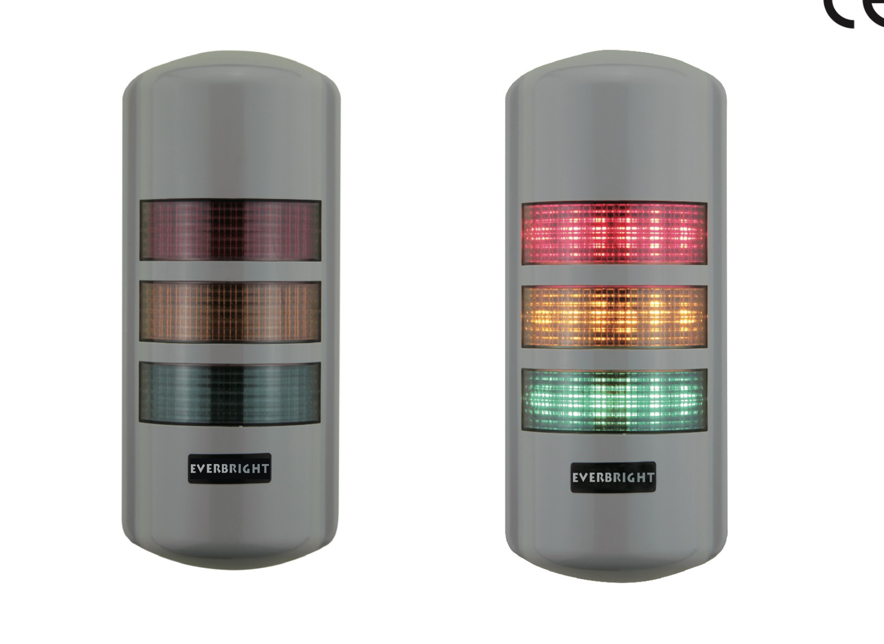 90mm LED Alarm Signal Tower Light with Buzzer, Stack Signal Tower Light