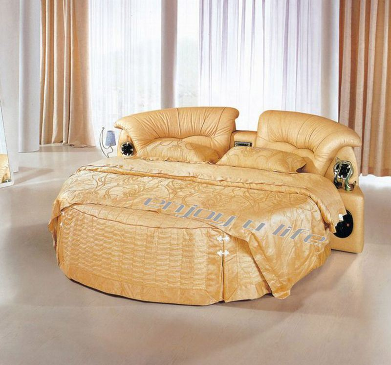 China Leather Round Sofa Bed C108 China Leather Sofa Bed Sofa Bed
