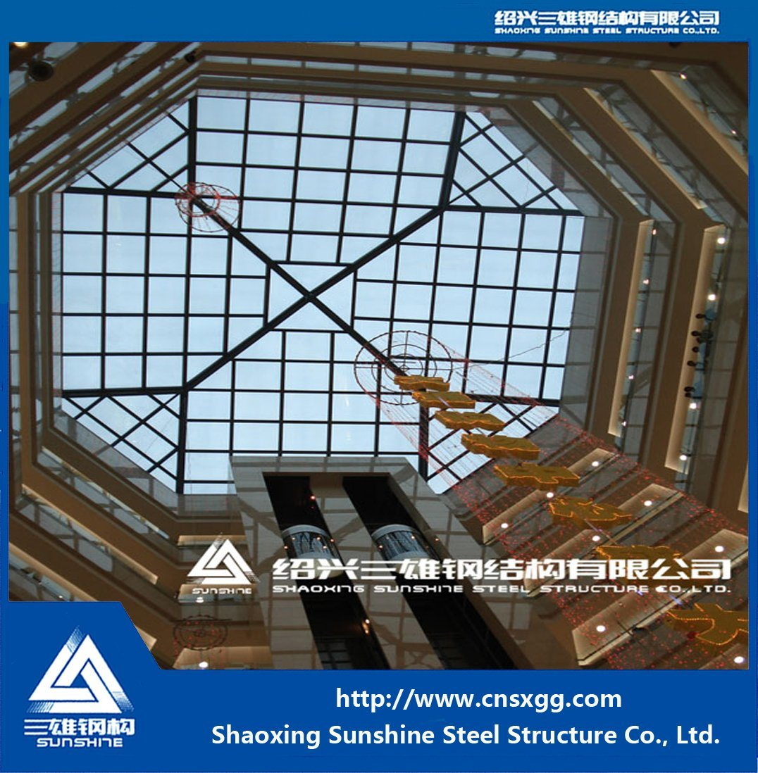 Steel Structure Made of Truss Building Material for Decoration Engineering