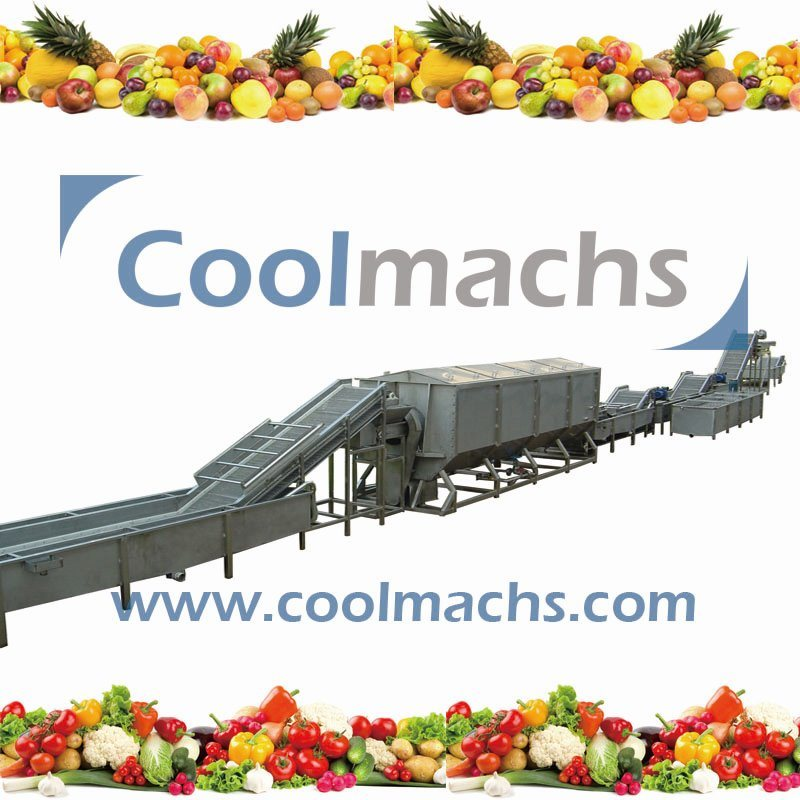 IQF Production Line for Vegetables and Fruits