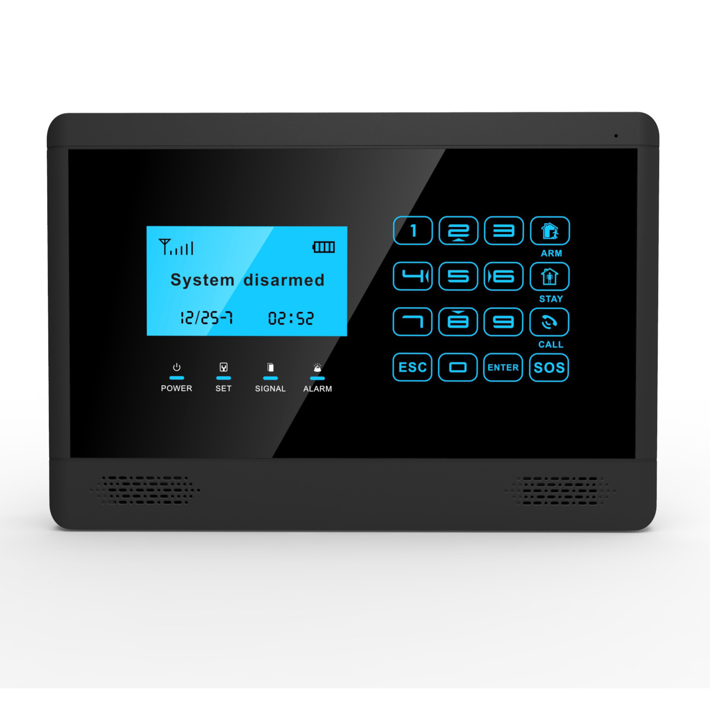 Wireless GSM Home Security Alarm with Touch Keypad Screen