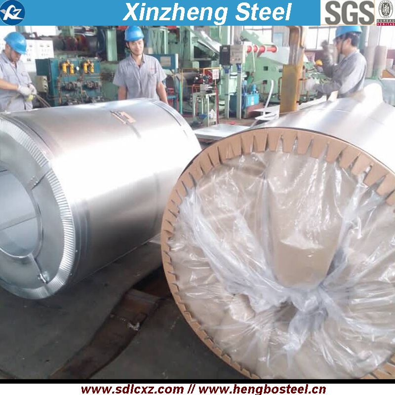 G550 Steel Prodcuts Galvalume Steel Coil with Anti-Figure (GL 0.15mm-0.8mm)