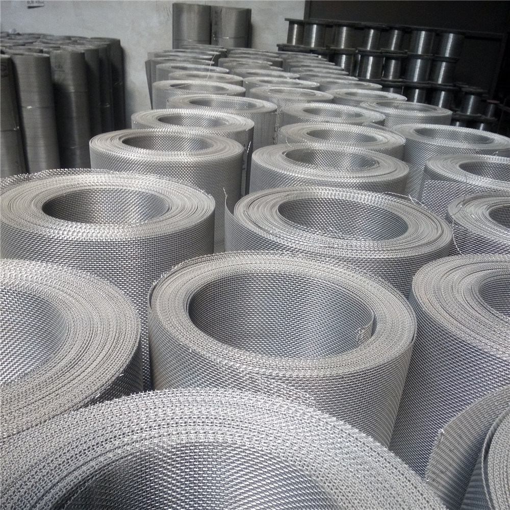 304, 304L, 316, 316L Plain/Twill/Dutch Weave Stainless Steel Woven Wire Mesh 1-635 Mesh