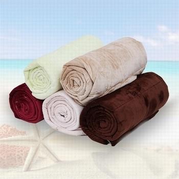 Polyester Short Fleece Quilt Blanket