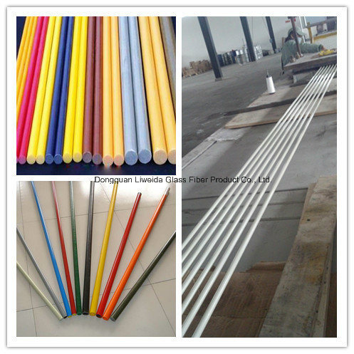 Good Quality Fiberglass FRP GRP Pole/Stake for Plant Support