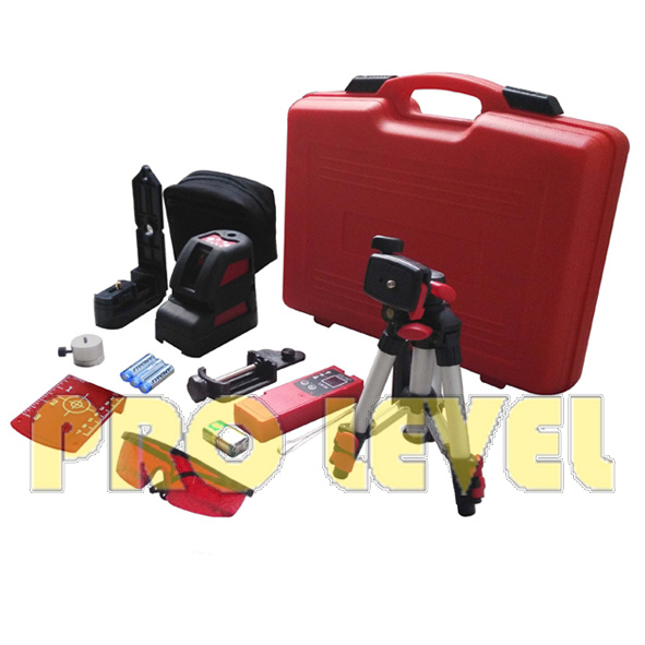 Five-Point Self-Leveling Cross-Line Laser Level