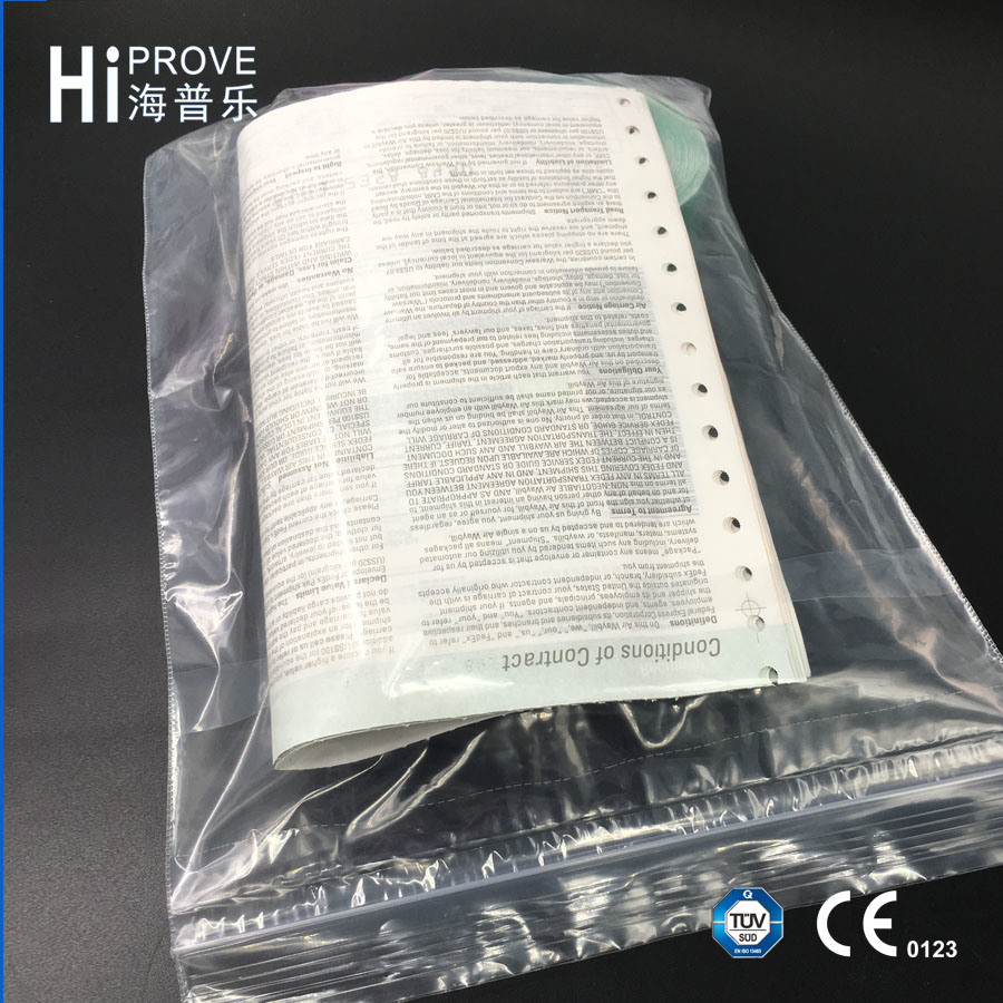 Ht-0535 Hiprove Brand Printed Zip Lock Plastic Bag