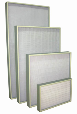 No Clapboard HEPA Filter with High Filtration Efficiency