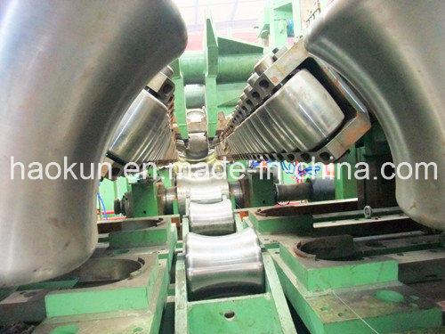 ERW Pipe Making Machine Longitudinal Welded Pipe Line