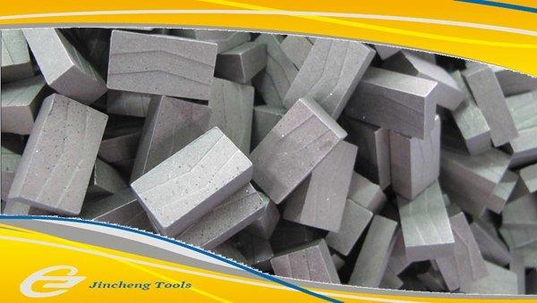 Diamond Segment Reinforced Concrete