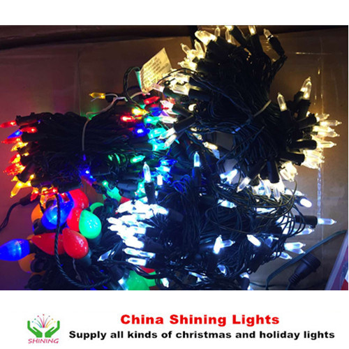 Classic Traditional Christmas Lights Party Holiday Decoration
