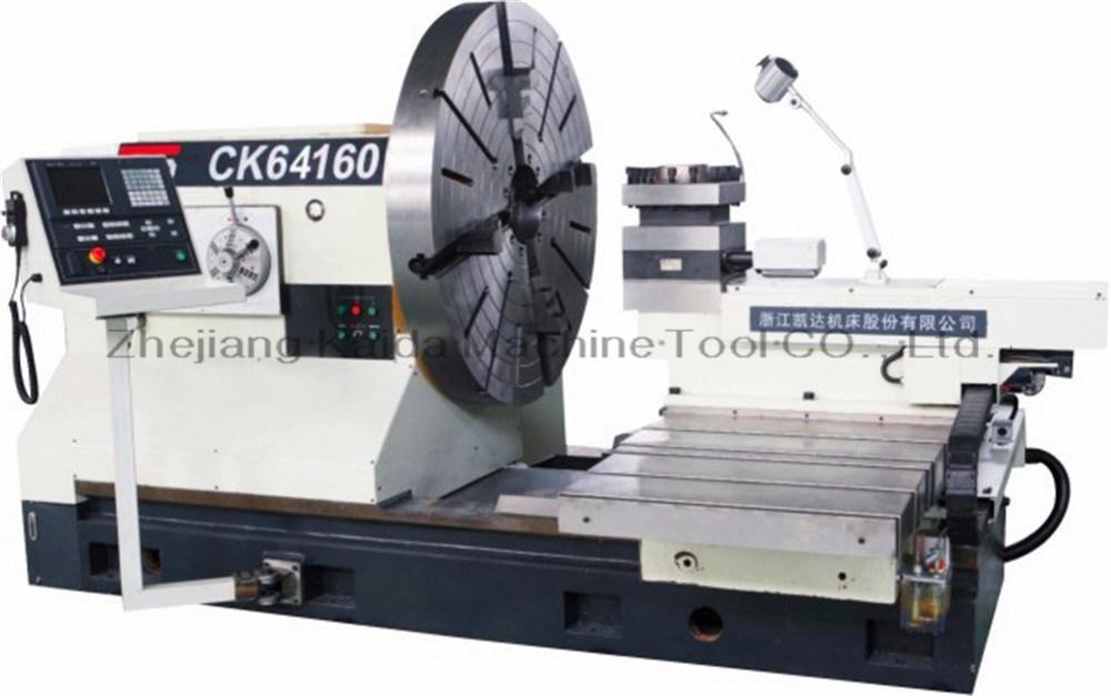 China Big Bore and Heavy Duty CNC Lathe Machine Ck-64160