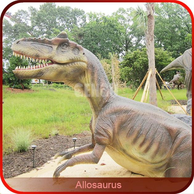 2015 Hot Sale Jurassic Park Animatronic 3D Dinosaur
