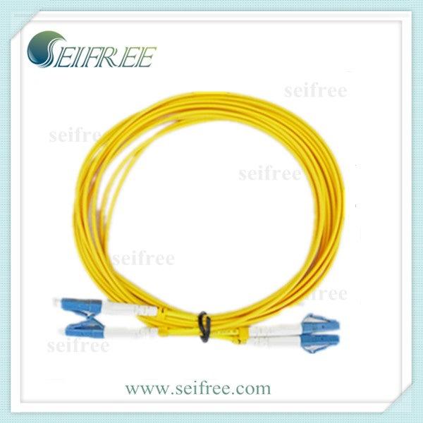 LC Duplex Fiber Optic Cable Patchcord (CATV Telecom)