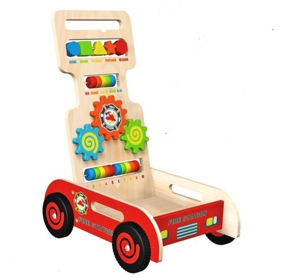 New Fashion Wooden Cart Toy for Kids and Children