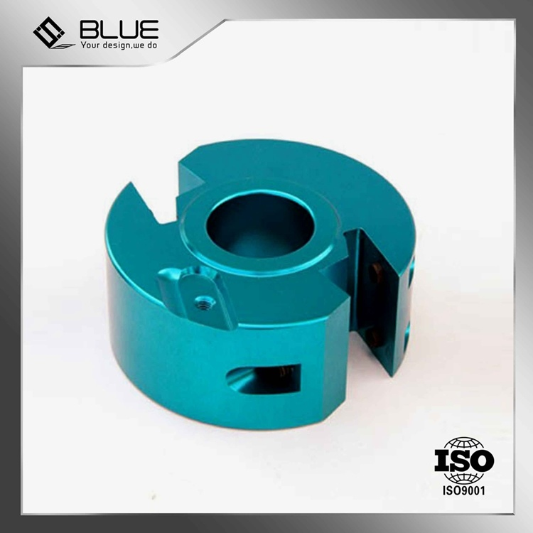 OEM Precision CNC Machine Part with Anodised Aluminium (BM-0001)
