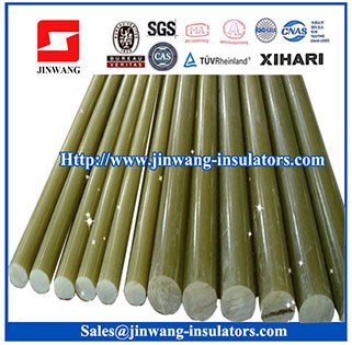 15mm-40mm Fiberglass Rods for Insulators with CEMT