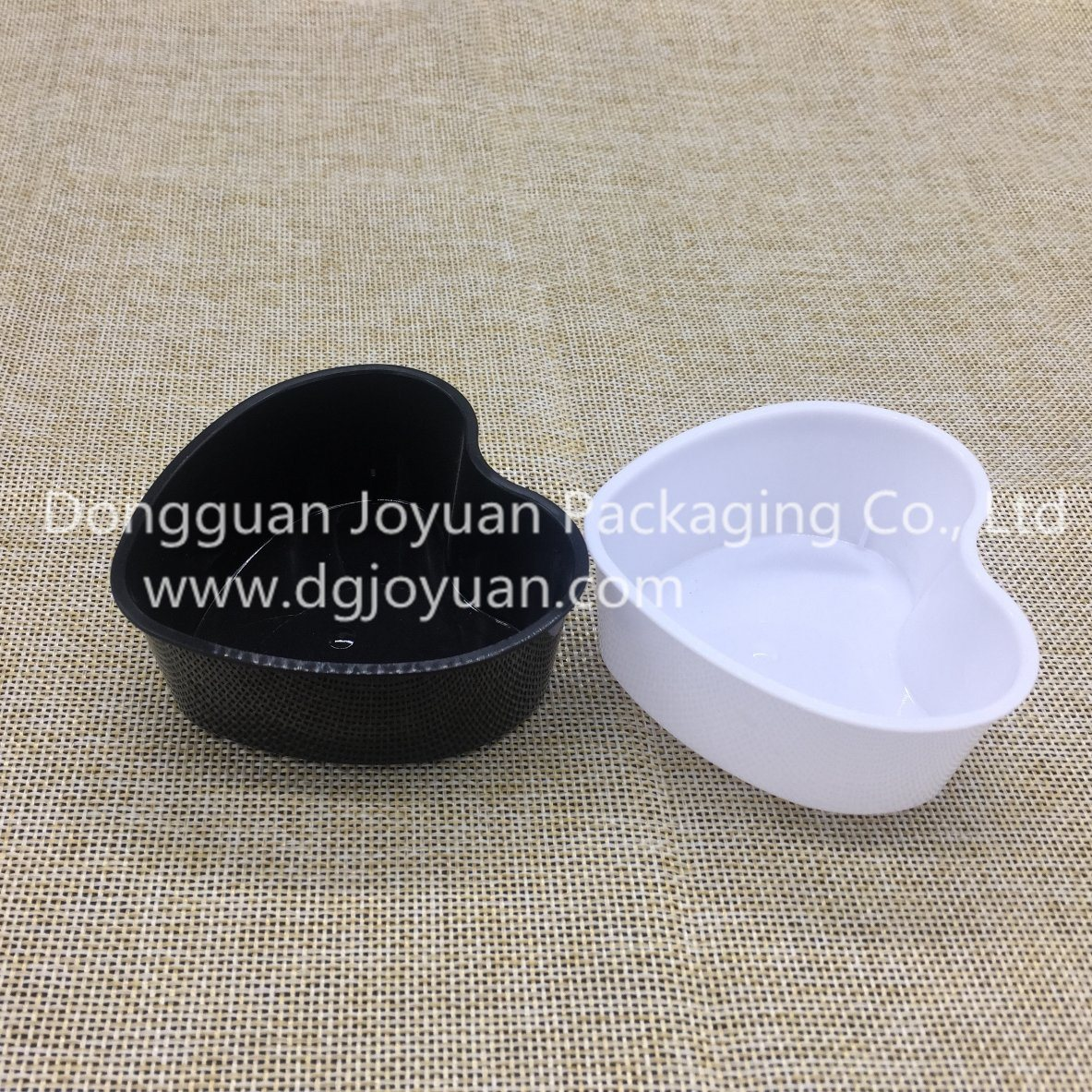Heart-Shape PP Disposable Plastic Cup Dessert Cup