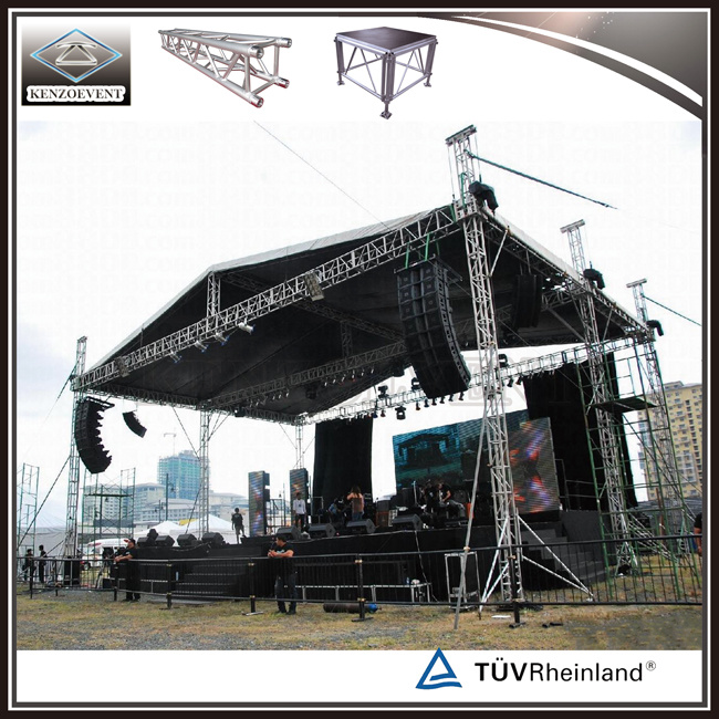 Cheap Portable Outdoor Event Stage Truss System for Sale