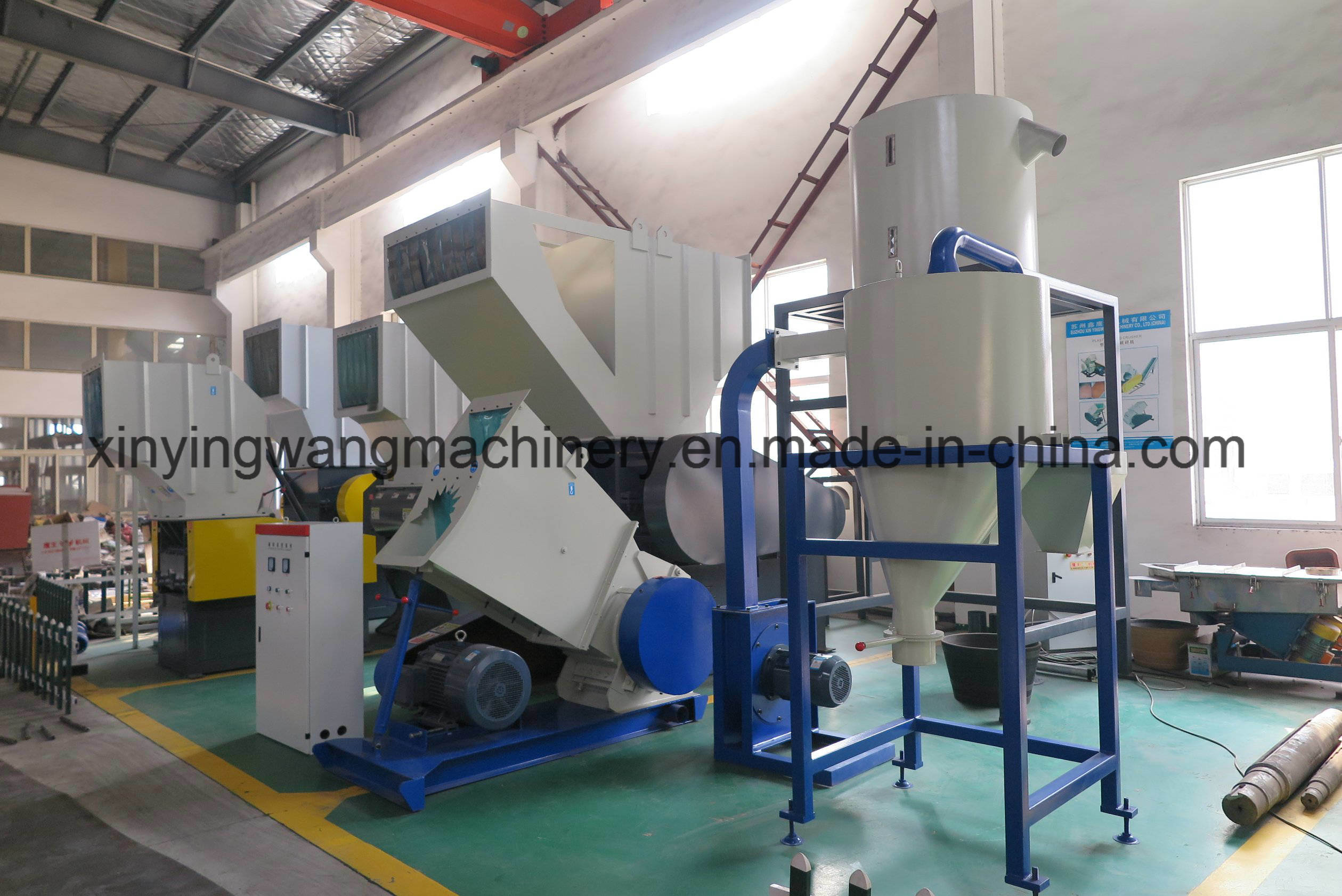 Hot Sale China Manufacture Pipe Plasitic Crusher