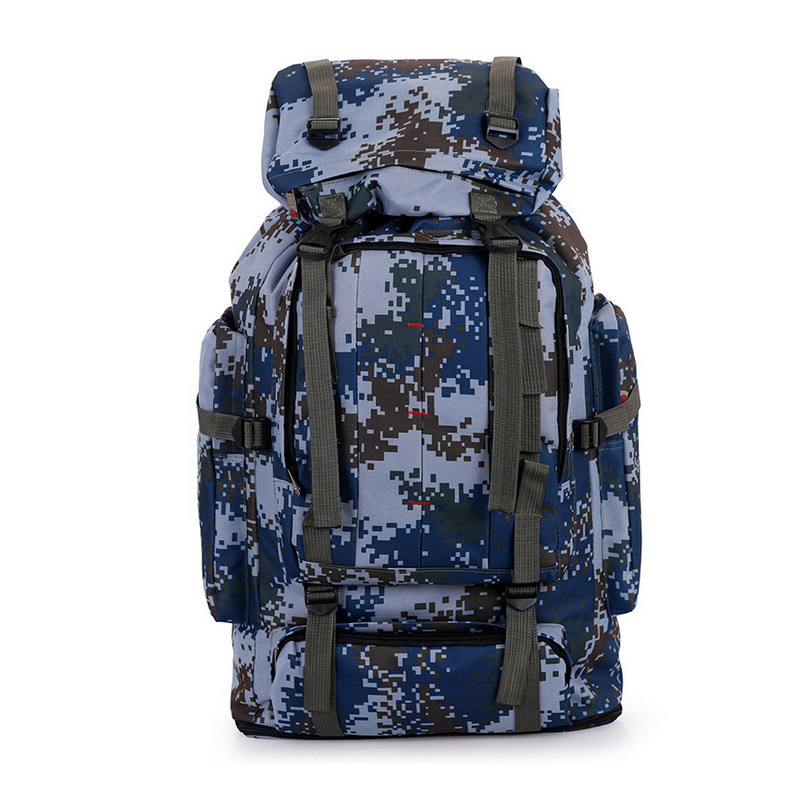Army Fans Hiking Backpack Outdoor Mountaineering Bag