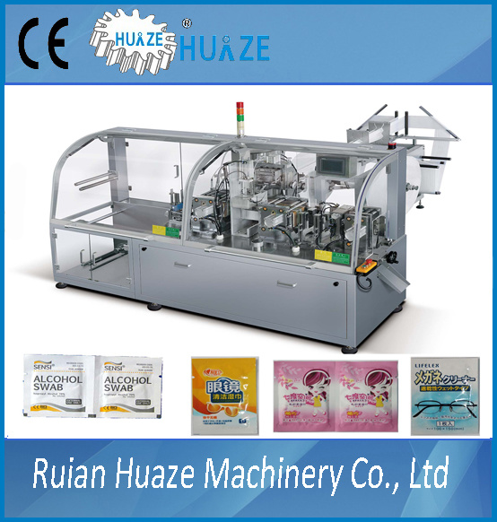 Four Side Sealing Pouch Wet Wipe Packing Machine