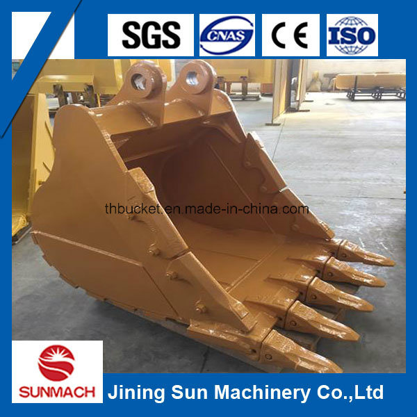 Cat320d Excavator Rock Bucket with Teeth