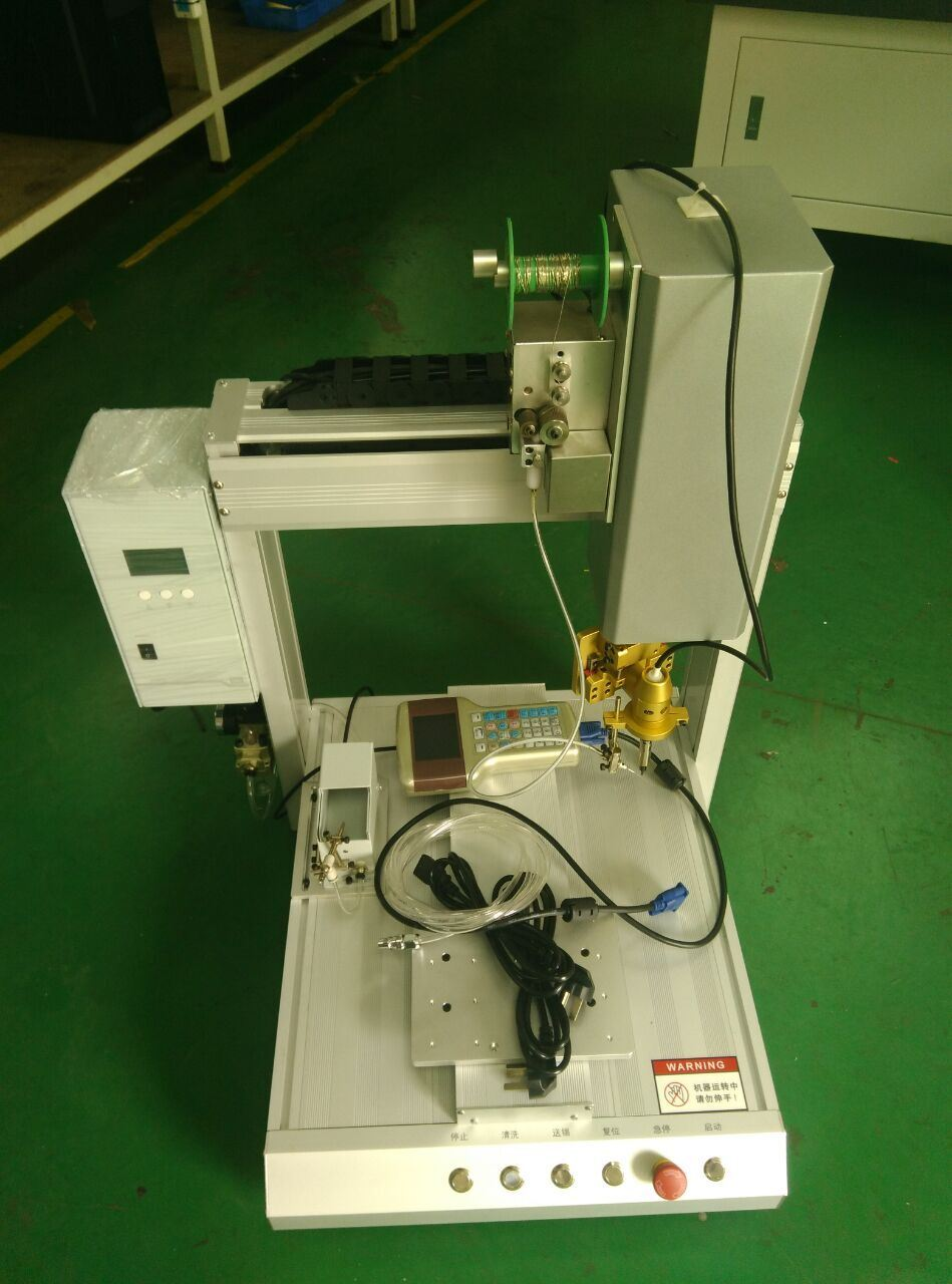 Automatic Hot Melt Glue Dispenser with Ce for PCB Electronic Components Fixed and Protection