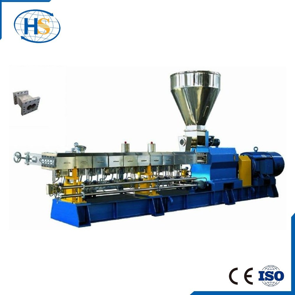 Ce and ISO9001 Haisi Plastic Making Twin Screw Extruder